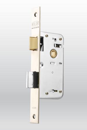 Cerradura kallay para puerta modelo 4006 herrajes cm for Cerradura para puerta de bano